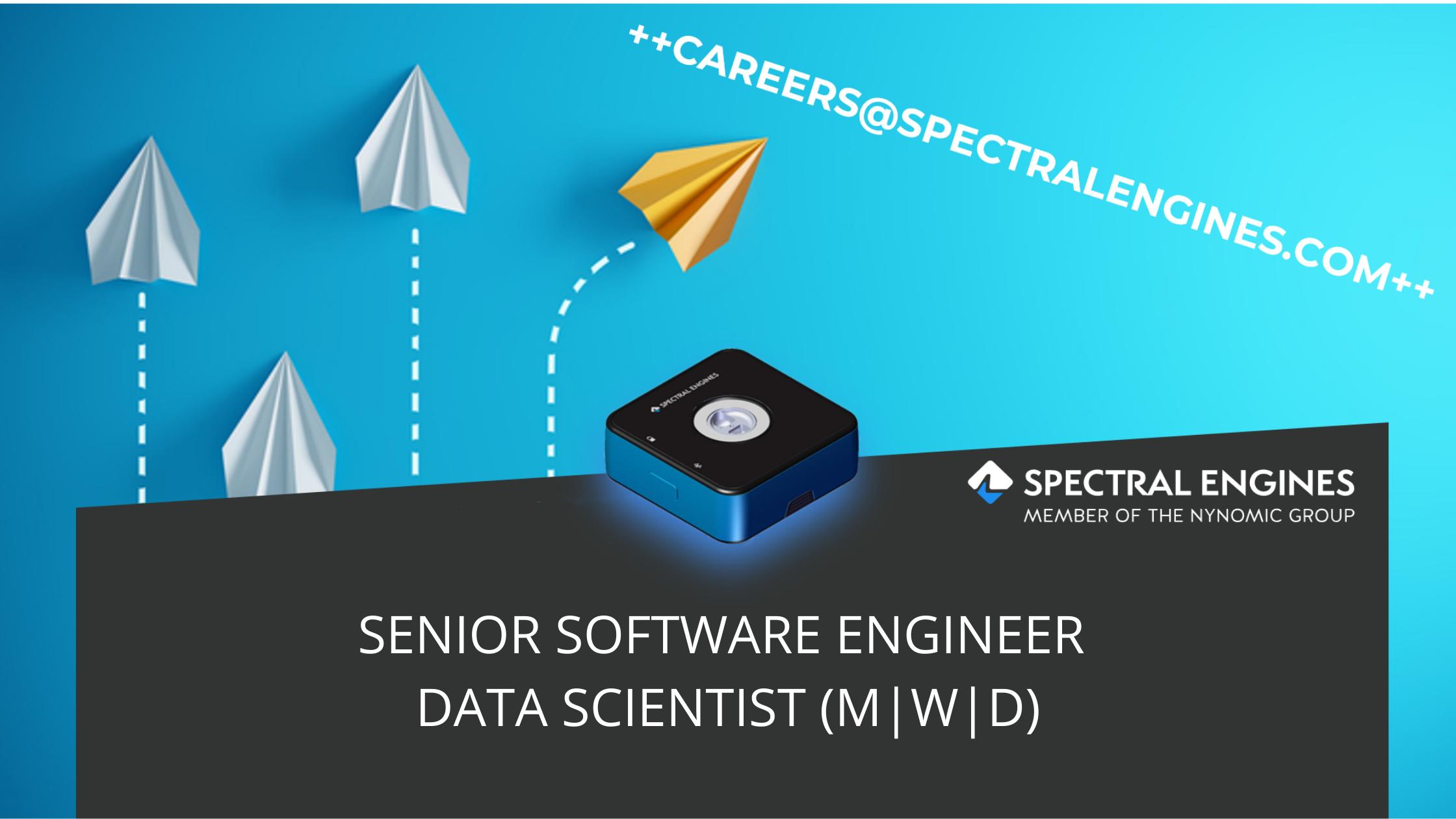SENIOR SOFTWARE ENGINEER DATA SCIENTIST (M|W|D)